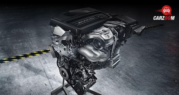 Mercedes-Benz AMG CLA Engine
