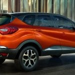 Renault Captur Back