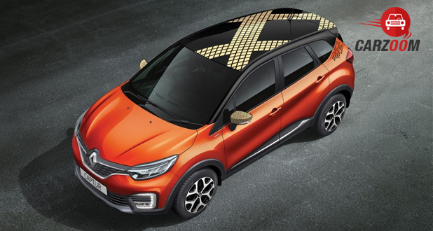 Renault Captur Top View