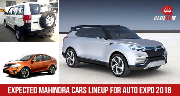 Auto Expo 2018: Expected Lineup by Mahindra