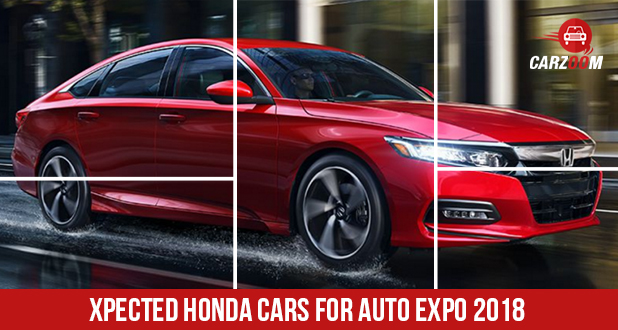Expected Honda cars at Auto Expo 2018