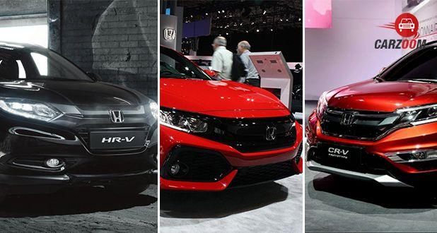 Expected Honda cars at Auto Expo 2018