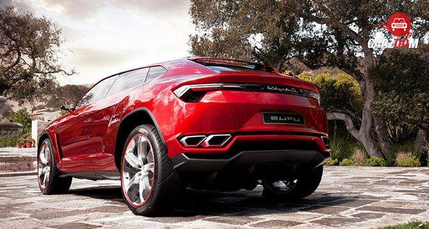 Lamborghini Urus Back