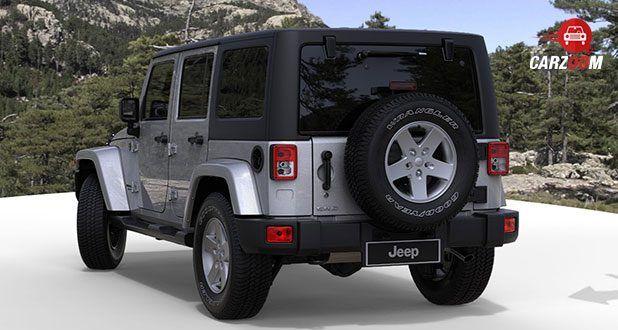 Jeep Wrangler Back