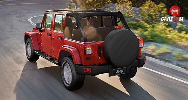 Jeep Wrangler RED