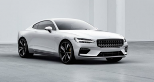 Volvo Electric car Front