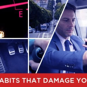8 Bad Habits That Damage Your Car