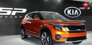 Auto expo 2018: Kia SP SUV concept showcased