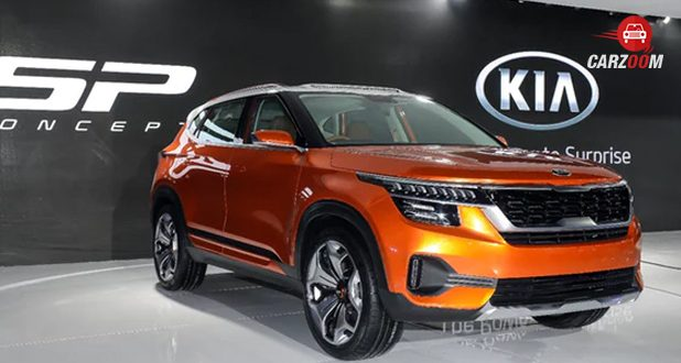 Auto expo 2018: Kia SP SUV concept showcased