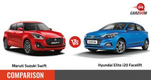 Maruti Suzuki Swift Vs Hyundai Elite i20 Facelift