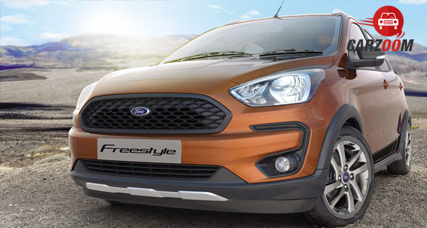 Ford Freestyle Exterior Front and Side View