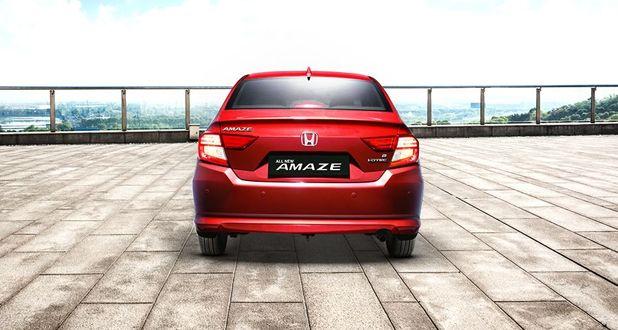 Honda Amaze Exterior Back View