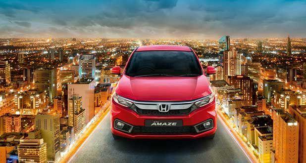 Honda Amaze Exterior Front View
