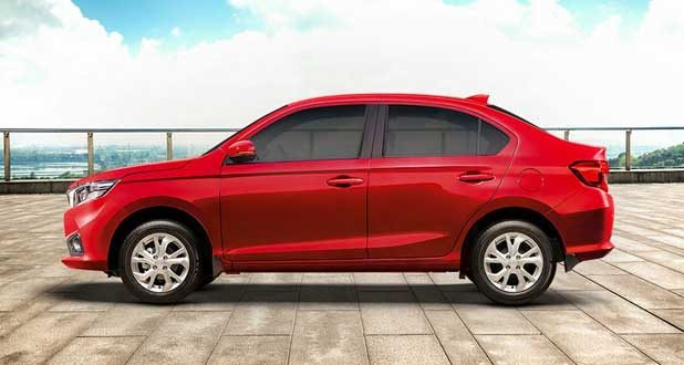 Honda Amaze Exterior Right Side View