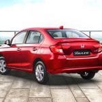 Honda Amaze Exterior Side and Back View