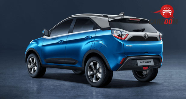 Tata Nexon Exterior Back and Side View