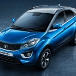 Tata Nexon Exterior Front and Side View