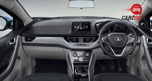 Tata Nexon Interior Dashboard