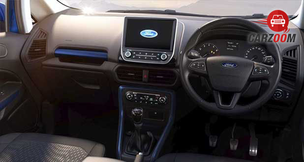 Ford EcoSport Dashboard View