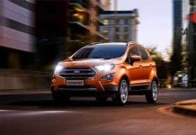 Ford EcoSport Front View