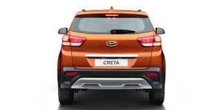 Hyundai Creta Exterior back view