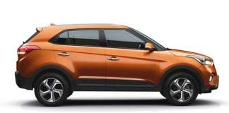 Hyundai Creta Side View