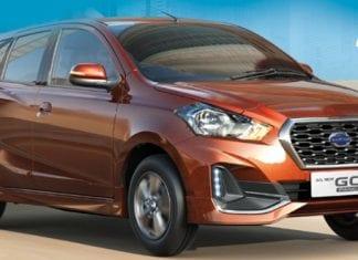 Datsun GO+ facelift spied