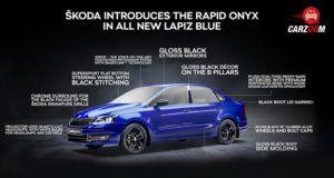 Skoda Rapid Onyx Edition