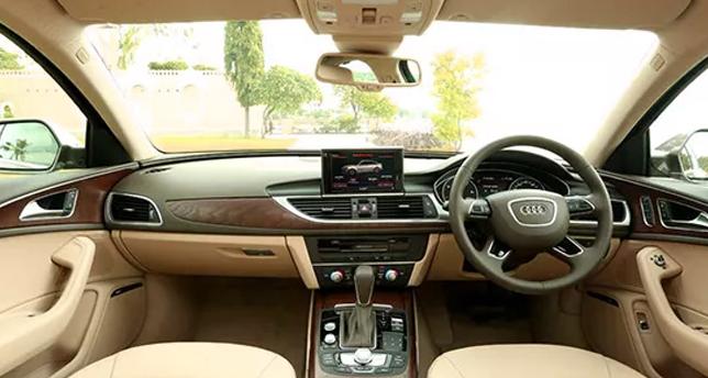 Audi-A6-Dashboard