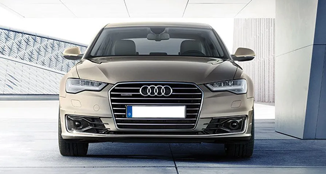 Audi-A6-Front-View
