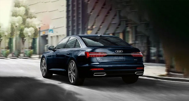 Audi-A6-Side-and-Back-View