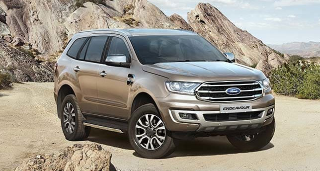 Ford-endeavour-Front-View