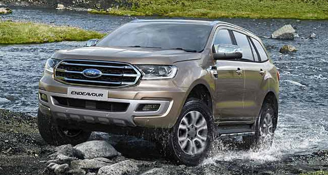 Ford-endeavour-Front-&-side-View