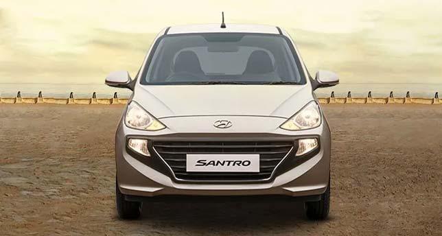Hyundai-Santro-Front-View