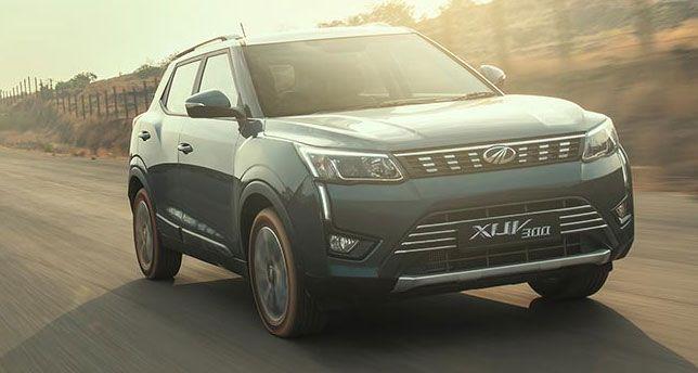 Mahindra-XUV-300-Front-View