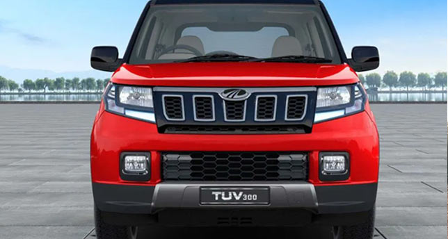 Mahindra-TUV300-Front-View-overall