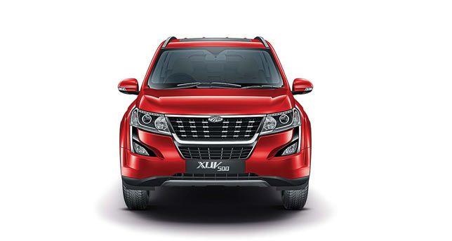 Mahindra-XUV500-Front-View
