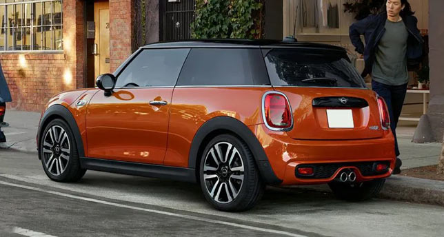 Mini-Cooper-Side-and-Front-View