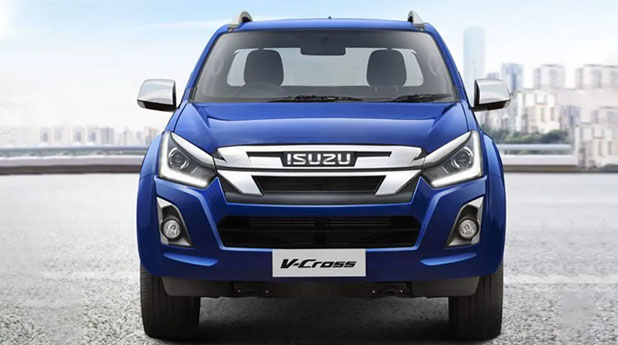 Isuzu-D-Max-V-Cross-Front-View