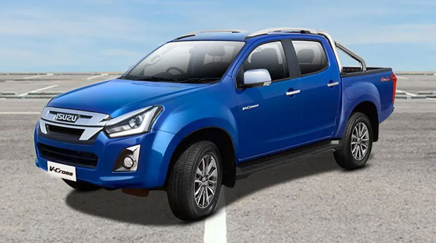 Isuzu-D-Max-V-Cross-Front-and-Side-View