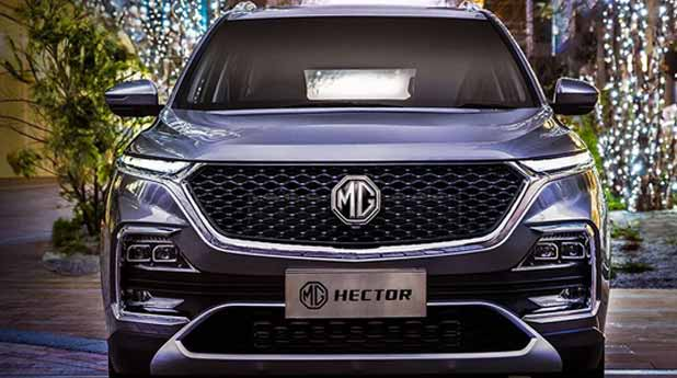 MG-Hector-Front-View
