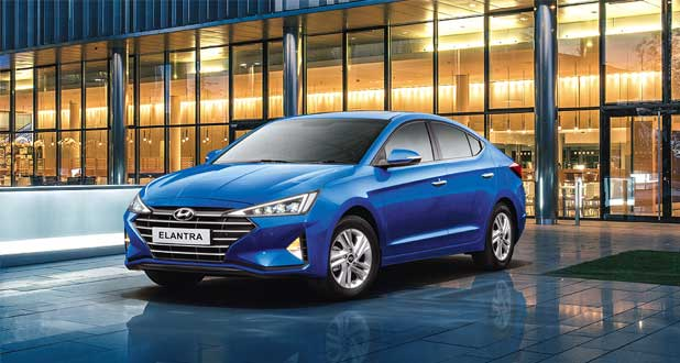Hyundai-Elantra-Front-&-Side-View