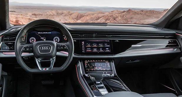 Audi-Q8-Dashboard