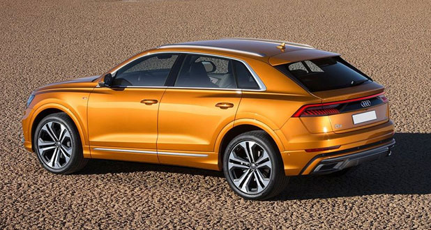 Audi-Q8-Side-and-Front-View