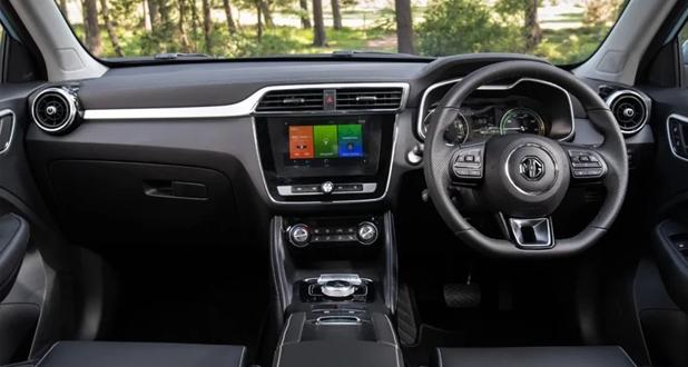 MG-ZS-EV-Dashboard-View