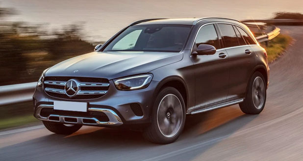 Mercedes-Benz-GLC-Front-and-Side-View