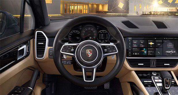 Porsche-Cayenne-Dashboard