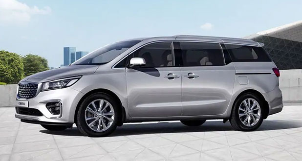 Kia-Carnival-Front-and-Side-View
