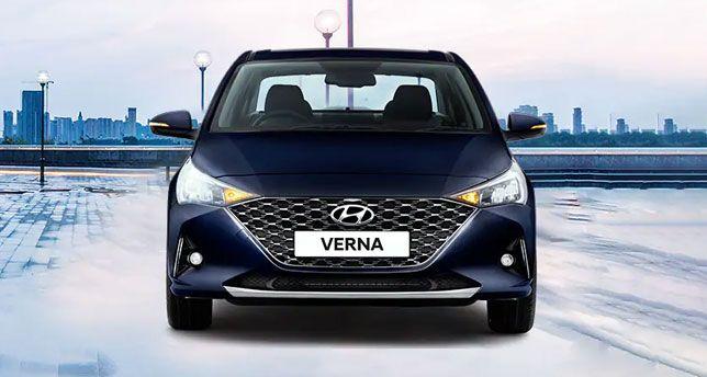 Hyundai-Verna-Front-View
