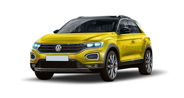 Volkswagen-T-Roc-Front-and-Side-View